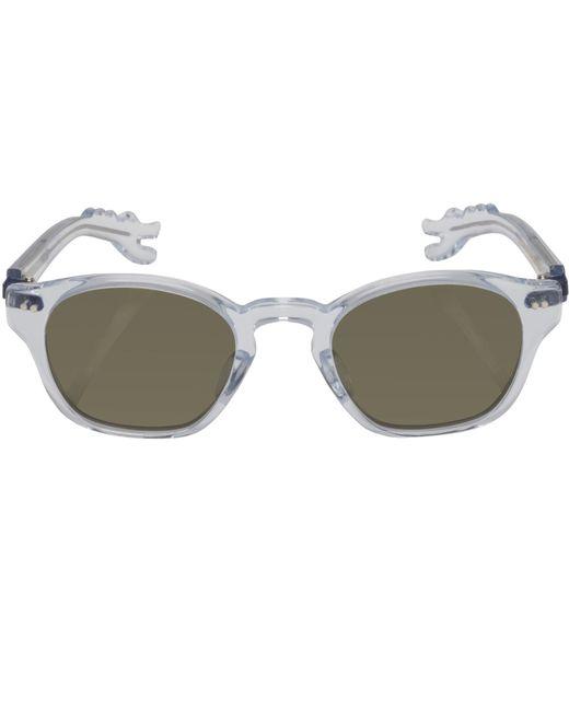 Nackymade - Multicolor Michael Transparent Dino Arm Green Lens Sunglasses for Men - Lyst