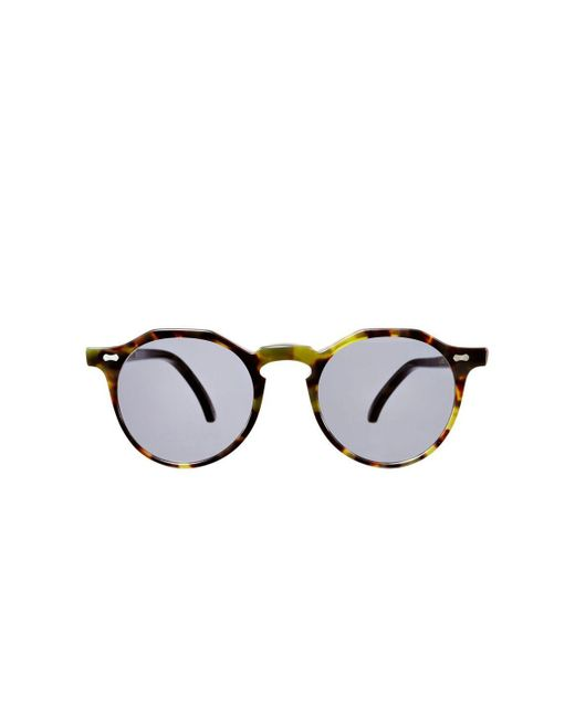 97bd9b04d3 The Bespoke Dudes Eyewear - Lapel Green Tortoiseshell Acetate Gradient Grey Lens  Sunglasses for Men ...