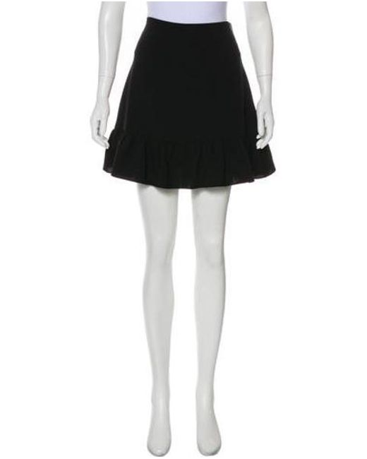 0fe24fb017 Elizabeth and James - Black Fluted Mini Skirt W/ Tags - Lyst ...