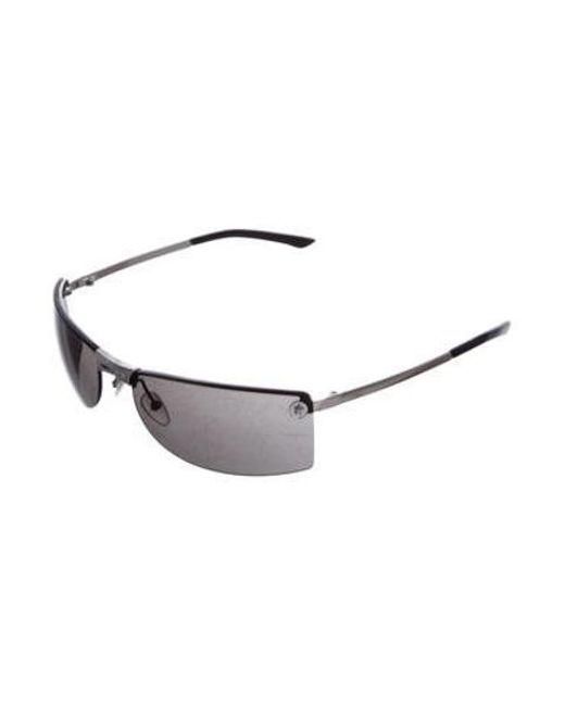 0b97e789189 ... Dior - Metallic Rimless Narrow Sunglasses Silver - Lyst ...