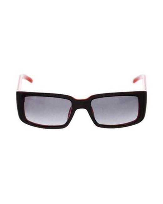 1e2ecc7dc49 Dior - Natural Vintage Rectangle Sunglasses Black - Lyst ...