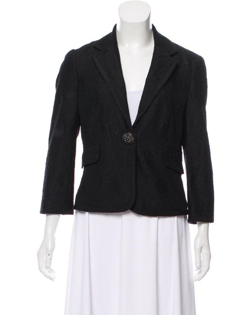 Cheap For Nice Sale For Cheap Diane von Furstenberg Tuxlie Notch-Lapel Blazer Free Shipping Get Authentic New Arrival Cheap Price h5vN2A