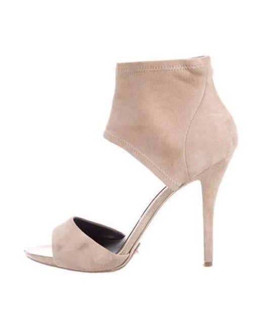 cc5f4530ce7 Women's Natural B Suede Ankle-strap Sandals Tan