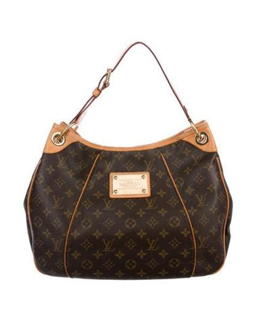 Louis Vuitton - Natural Monogram Galleria Pm Brown - Lyst ... e57741a552144