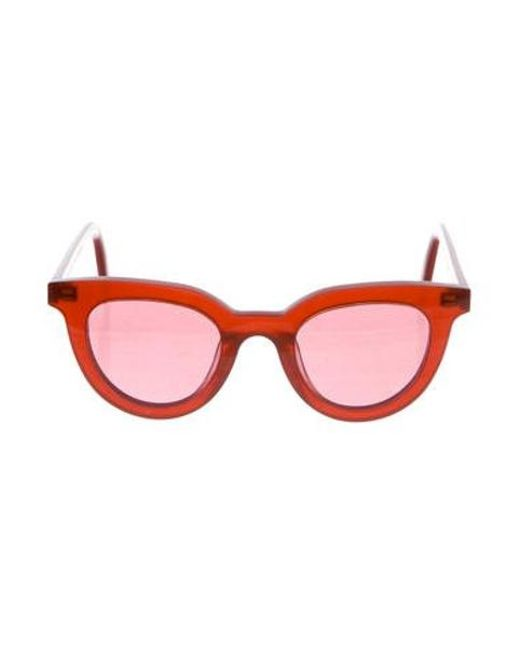 1de100fdab07 Gentle Monster - Metallic Tilda Swinton Eye Sunglasses Red - Lyst ...