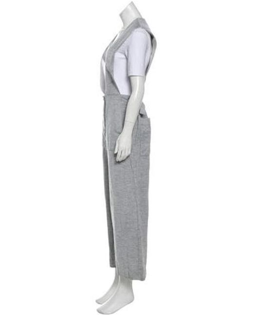 2215140bb8be ... Tibi - White Sleeveless Wide-leg Jumpsuit - Lyst ...