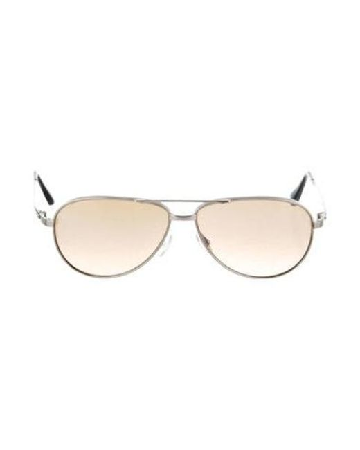 bb6581db59 Oliver Peoples - Metallic Copter Polarized Sunglasses for Men - Lyst ...