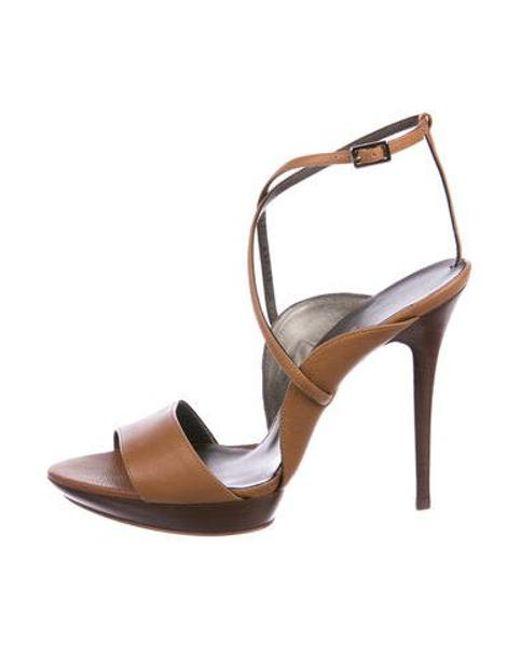 187451d1e994 Ferragamo - Natural Gilina Leather Sandals W  Tags Tan - Lyst ...