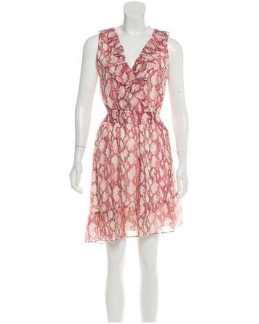 08461c7875 Rachel Zoe - Pink Lyle Mini Dress W  Tags - Lyst ...