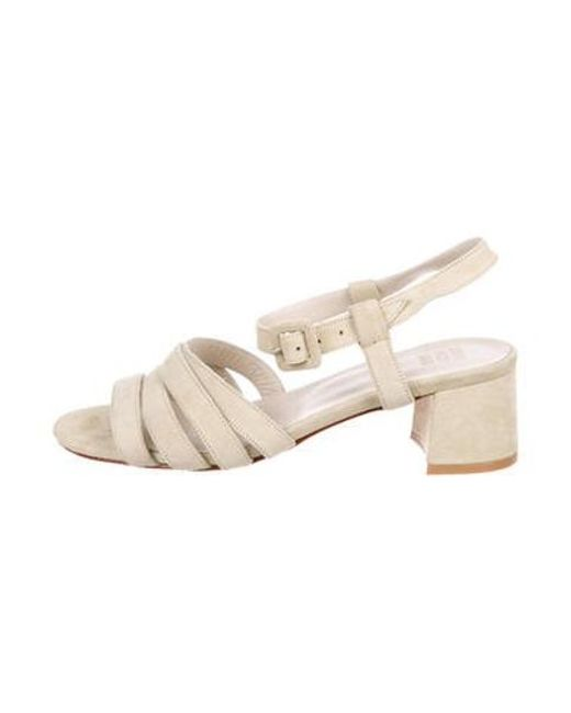 9e9ec87fb440 Maryam Nassir Zadeh - Green Palma Low Multistrap Sandals - Lyst ...