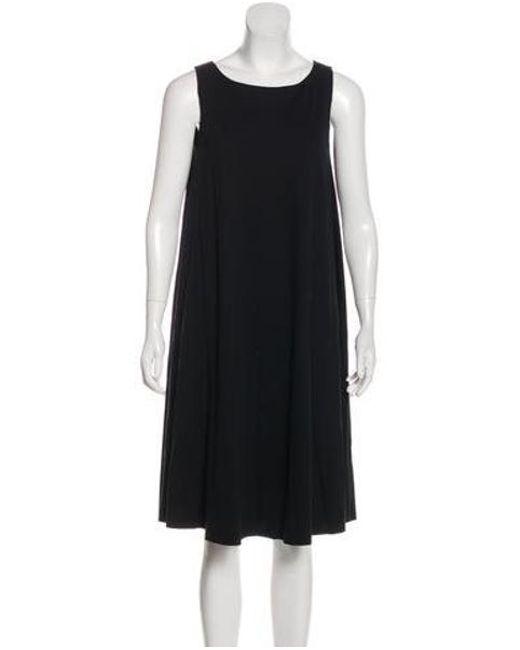 Harris Wharf London - Black Oversize Midi Dress - Lyst