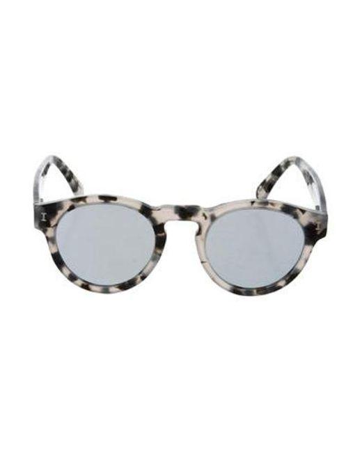 e68a1e435d Illesteva - Gray Leona Tinted Sunglasses Grey - Lyst ...