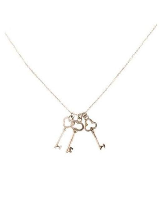 676ccfec9abb Tiffany N Co Necklace Key - The Best Price Necklace In 2018