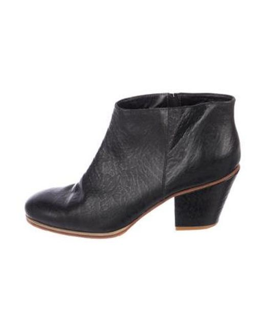 04dfaac55b83 Rachel Comey - Black Leather Ankle Boots - Lyst ...