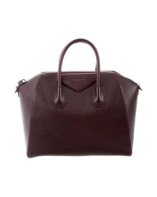 b58748445cf2 Givenchy - Black Medium Antigona Satchel - Lyst ...