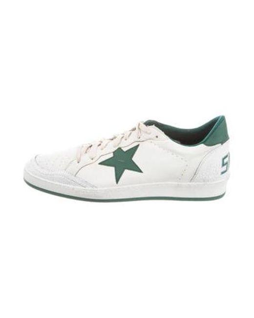3e42e89491e3a Golden Goose Deluxe Brand - Metallic Ballstar Low-top Sneakers W  Tags White  for ...