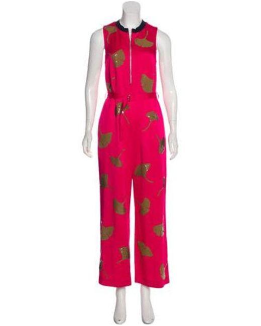 93dc6425087 3.1 Phillip Lim - Pink Sequin Sleeveless Jumpsuit - Lyst ...