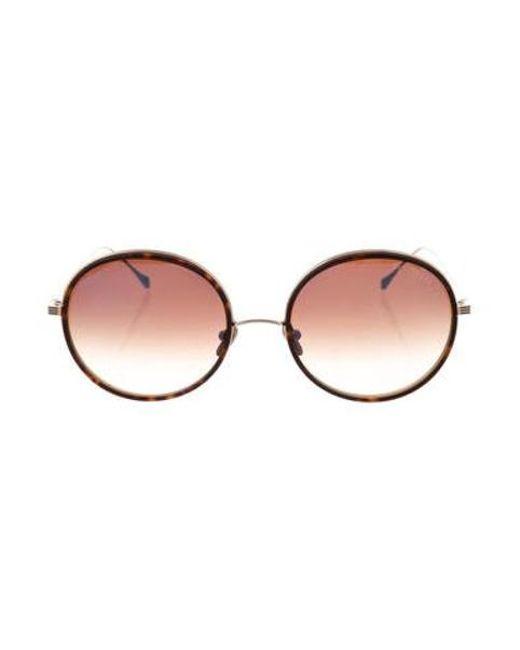 4a8c67b8e63 Dita - Metallic Freebird Tinted Sunglasses Gold - Lyst ...