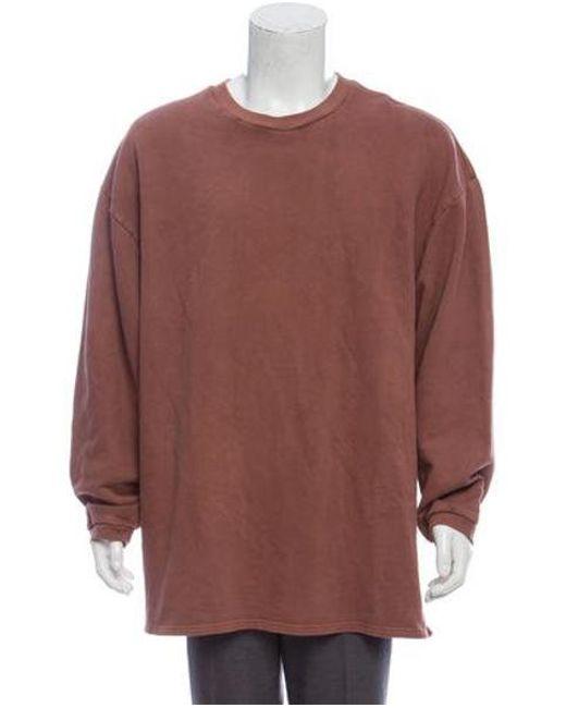 478e2e733 Yeezy - Brown Season 1 Oversize Sweatshirt for Men - Lyst ...