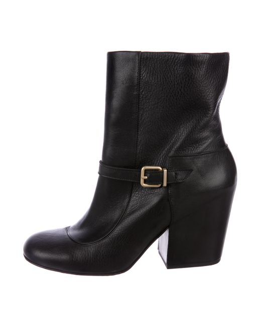 Robert Clergerie Clergerie Paris Brooke Leather Boots footaction cheap price 9FF2cqd