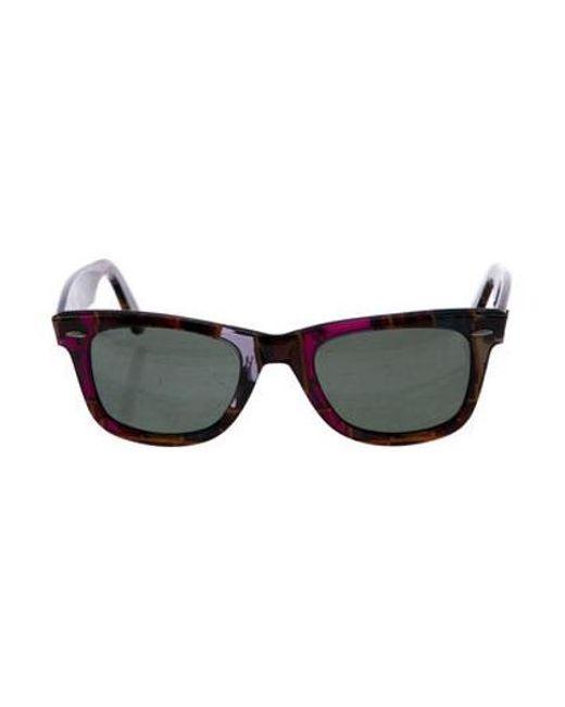 a382f6de8f Lyst Ban Sunglasses Purple Ray Wayfarer Tinted In SOqgSrw5