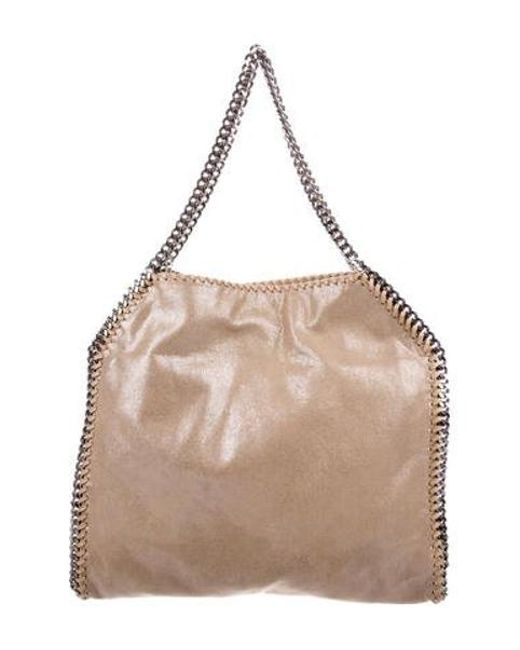 f62fab0fd2 Stella McCartney - Natural Shaggy Deer Falabella Tote Tan - Lyst ...