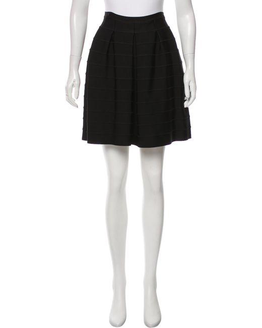 Proenza Schouler | Black Bandage Mini Skirt | Lyst