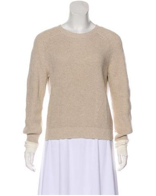 2f8aec2cc9752c Helmut Lang - Natural Cable Knit Sweater Tan - Lyst ...