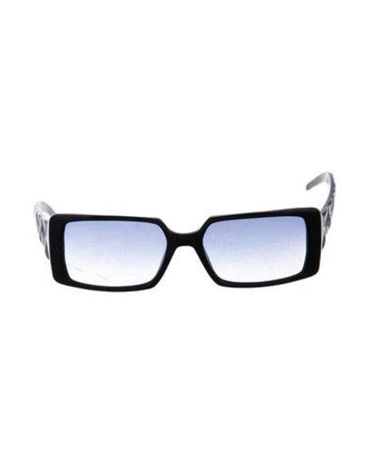 e8e404dc7b07 Chanel - Black Quilted Cc Sunglasses - Lyst ...