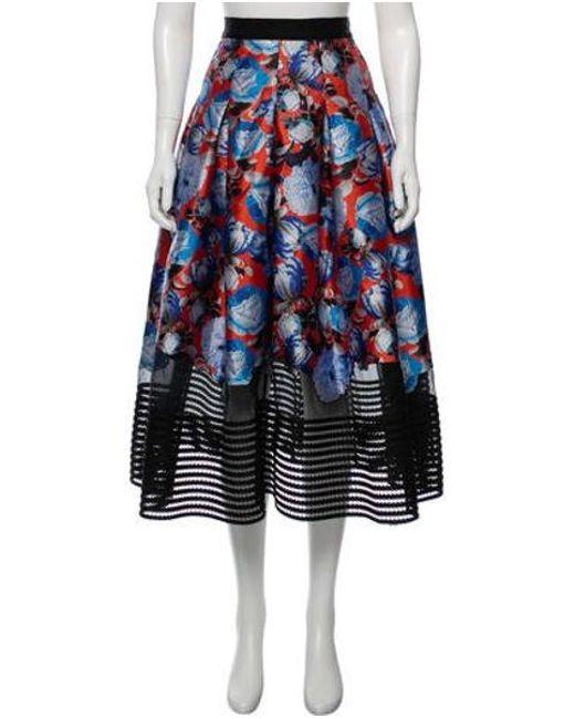 392c30c696 Sachin & Babi - Blue Printed Midi Skirt - Lyst ...