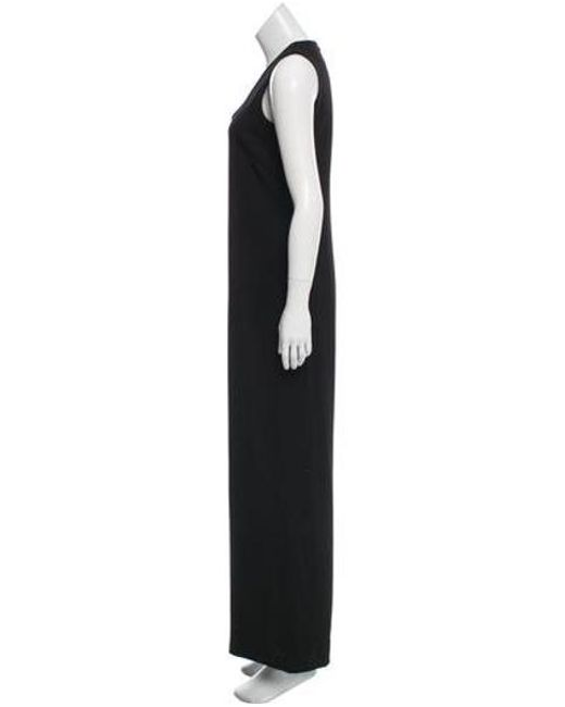 b42716aff9 ... Philosophy di Alberta Ferretti - Black Sleeveless V-neck Jumpsuit - Lyst  ...