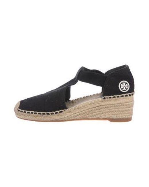ab8cc4ddd12 Women's Black Catalina Espadrille Wedge Sandals W/ Tags