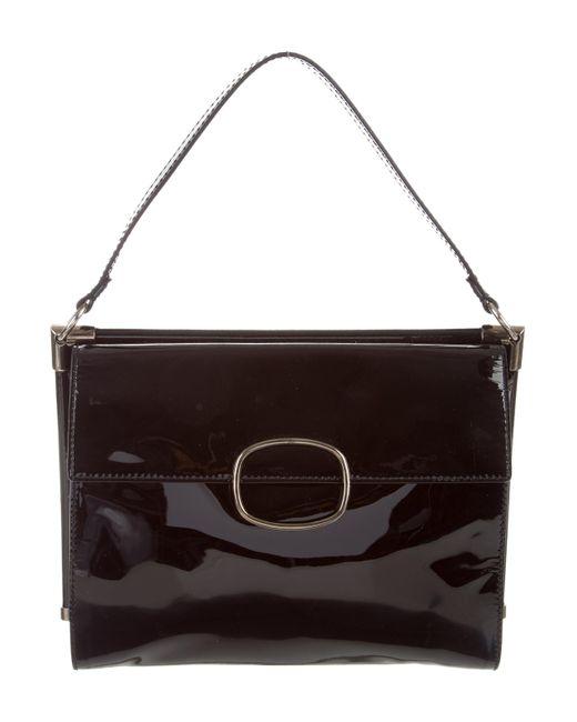 Roger Vivier - Metallic Miss Viv Medium Bag Black - Lyst