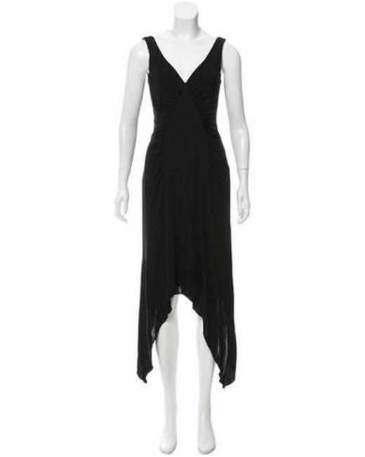 David Meister - Black Sleeveless Maxi Dress - Lyst