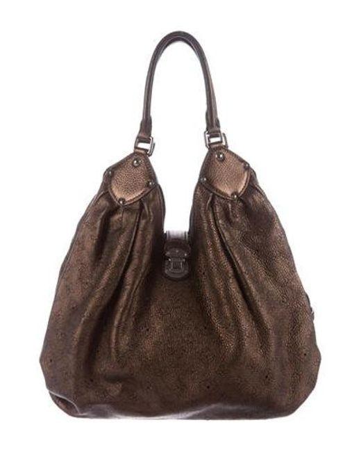 Louis Vuitton - Metallic Mahina Xl Bag - Lyst