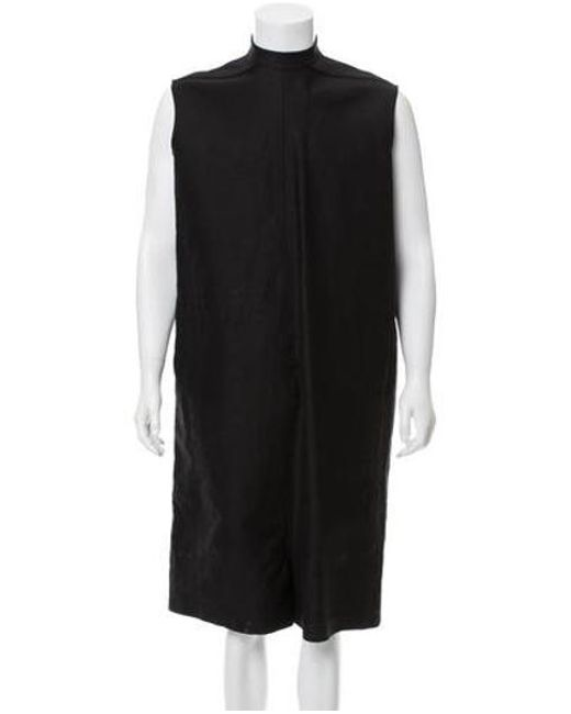42ce90982d30 Rick Owens - Natural Moody Sleeveless Jumpsuits Black for Men - Lyst ...