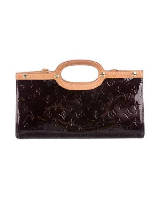 367f4db5bba2 Louis Vuitton - Natural Vernis Roxbury Drive Brass - Lyst ...