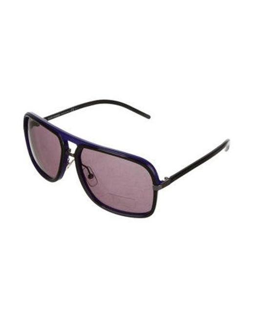 30d8dbc81e6e9 ... Dior - Black Tinted Oversize Sunglasses - Lyst ...