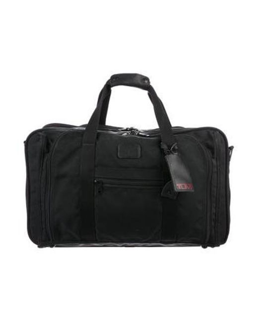 Tumi - Black Woven Garment Bag for Men - Lyst ... 84d867104fe31