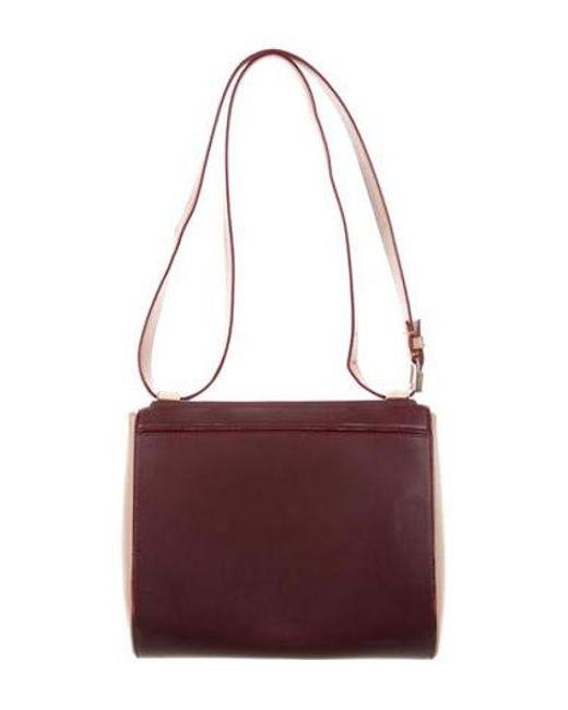 774286aff46b ... Givenchy - Metallic Mini Pandora Box Bag Red - Lyst