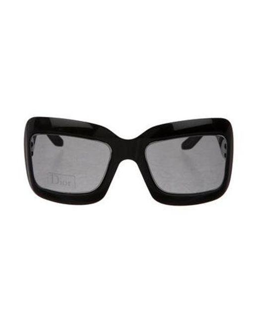 cae32c65b5 Dior - Metallic Extra Light 2 Sunglasses Black - Lyst ...