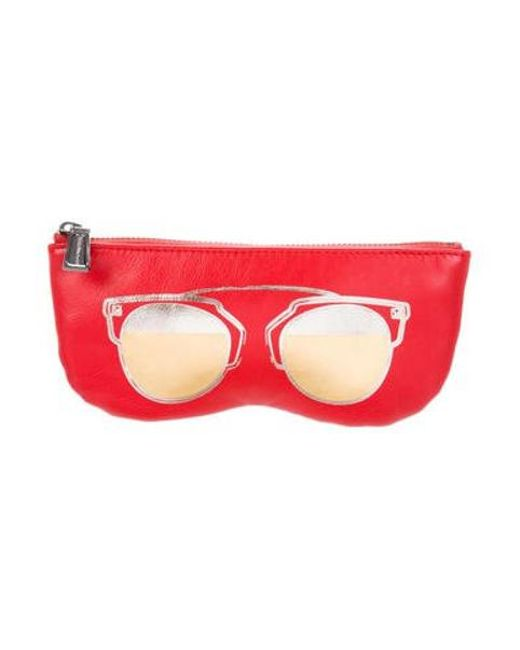 Rebecca Minkoff - Red Aviator Sunnies Pouch W/ Tags - Lyst
