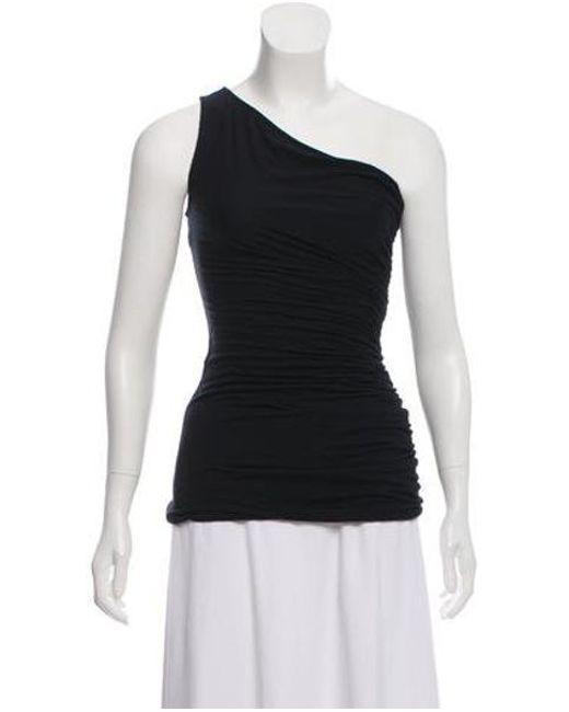 a15b74e1c5fa7 Diane von Furstenberg - Black Silk Blend Off-the- Shoulder Top W  Tags ...