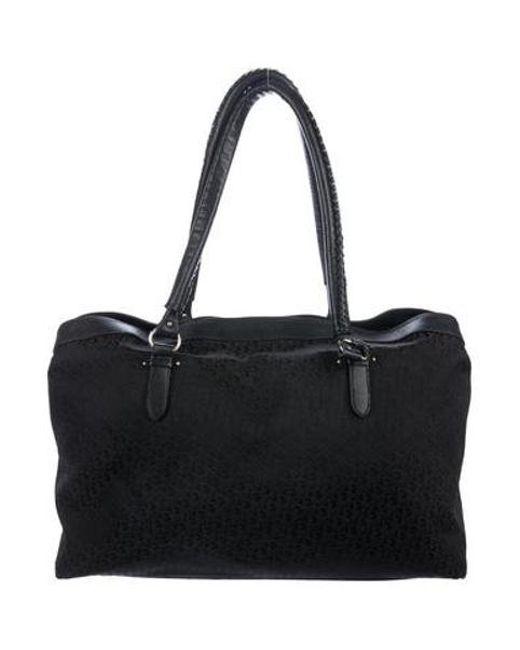 e0b9775ca29 ... Dior - Metallic Diorissimo Shoulder Bag Black - Lyst