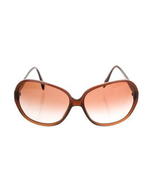 044ab4ce6a32 Oliver Peoples - Metallic Isobel Gradient Sunglasses Brown - Lyst ...