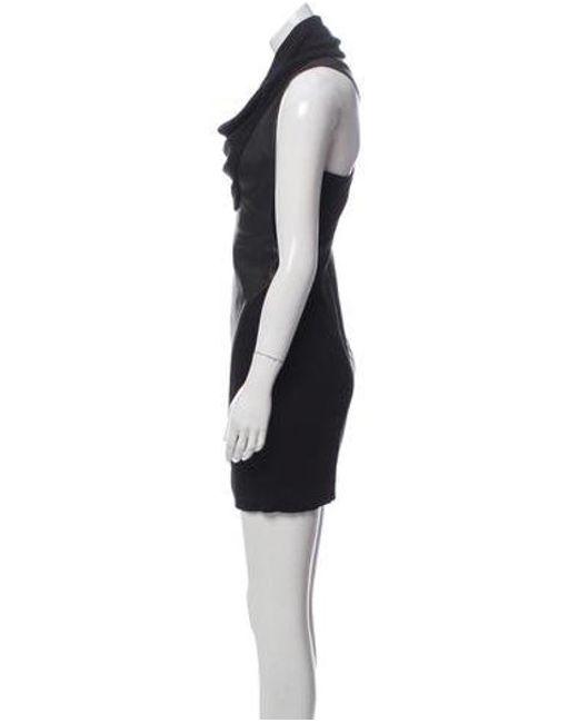 261dc1eefc2d7 ... Helmut Lang - Black Sleeveless Leather Dress - Lyst ...