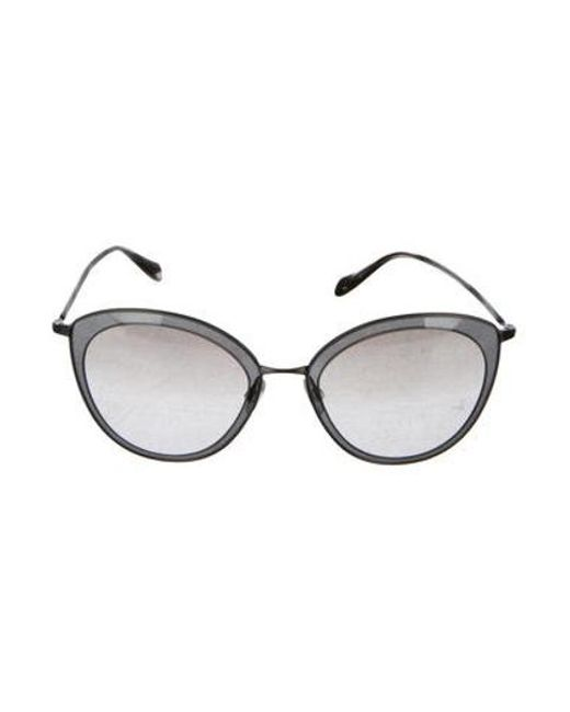 19d415361485 Oliver Peoples - Gray Gwynne Cat-eye Sunglasses - Lyst ...