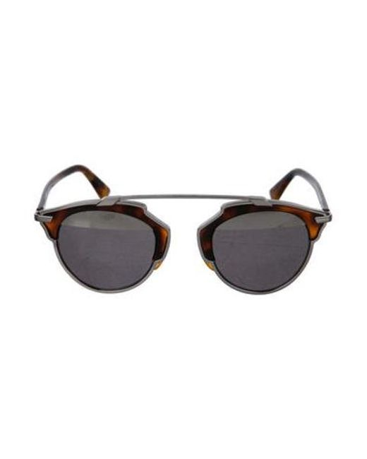 5d205157a5 Dior - Brown So Real Tortoiseshell Sunglasses - Lyst ...