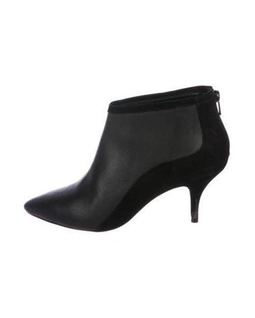 4543b8ac4c4b Loeffler Randall - Black Mid-heel Ankle Booties - Lyst ...