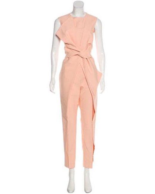 f30ed36c1aa Lela Rose - Multicolor Lela 2016 High-rise Jumpsuit - Lyst ...